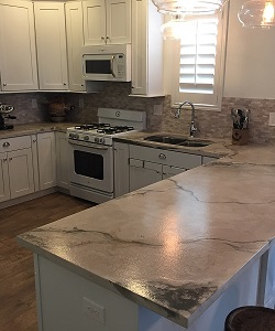 Gentil Concrete Countertops In Salt Lake City, Utah