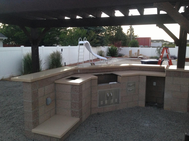Custom Concrete Countertops Salt Lake City