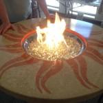 custom concrete firepits Utah